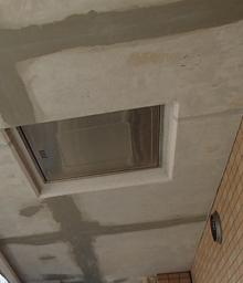天井塗装施工前
