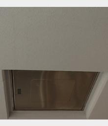 天井塗装施工後