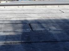 屋上アスファルト防水施工前